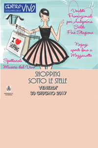 Shopping Sotto le Stelle 2017