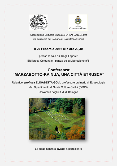 conferenza citta etrusca evento