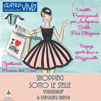Shopping Sotto le Stelle 2018
