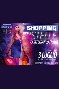 Shopping sotto le stelle 2015
