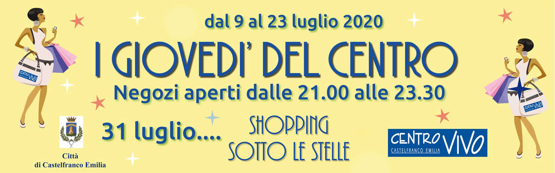 Shopping sotto le stelle 2020