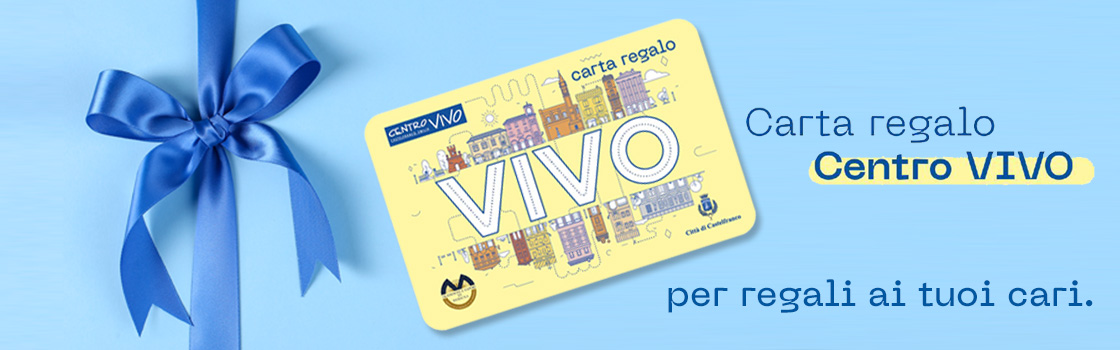 Carta Regalo Centro Vivo Per Privati
